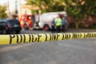 SEATTLE, WA - JUNE 05: Police tape marks the crime scene after a shooting at Seattle Pacific University on June 5, 2014 in Seattle, Washington. A gunman is in custody after four people were shot on campus resulting in one death.