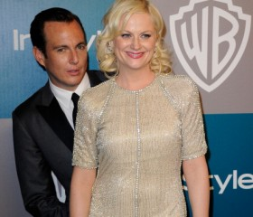 Will Arnett and Amy Poehler at 13th Annual Warner Bros. And InStyle Golden Globe Awards