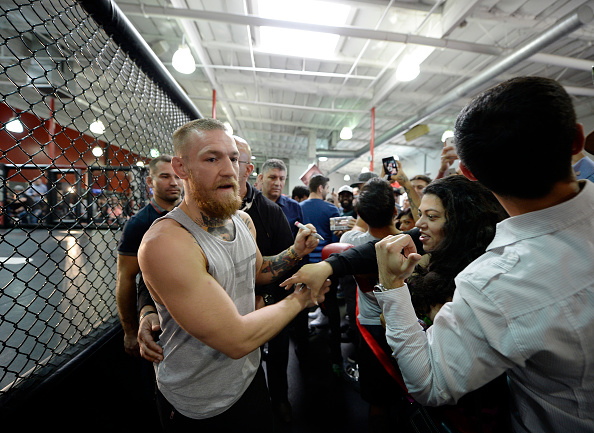 Conor McGregor calls opponent Nate Diaz a 'fajita'