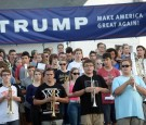 North Carolina High School students showed support for Donald Trump with their Senior prank.