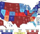 Center for Politics Electoral College map