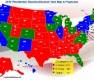 Electoral College voting map according to Freedoms Lighthouse