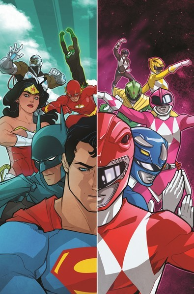Justice League/ Power Rangers Crossover