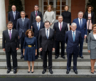 Rajoy's New Government At The Moncloa Palace