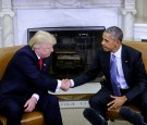President Obama Meets With President-Elect Donald Trump At The White House