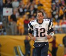 Quarterback Tom Brady #12 of the New England Patriots looks on from the field before a game against the Pittsburgh Steelers at Heinz Field on October 23, 2016 in Pittsburgh, Pennsylvania.