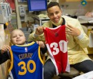Steph Curry visits leukemia-stricken young boy