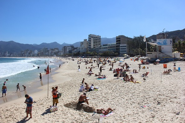 After the Olympics, Rio's beaches remain full of tourists