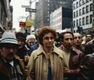 Juanita Castro Marching with Demonstrators