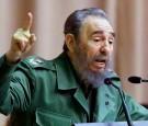 Cuban President Fidel Castro delivers a speech 02