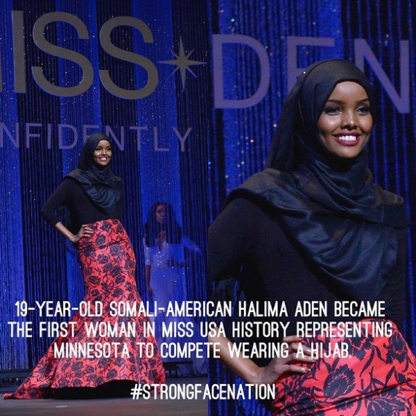 Muslim teen stuns Miss USA competition with hijab and burkini