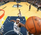 Zach Randolph #50 of the Memphis Grizzlies goes for the rebound during the game against the Golden State Warriors on December 10, 2016 at FedExForum in Memphis, Tennessee.