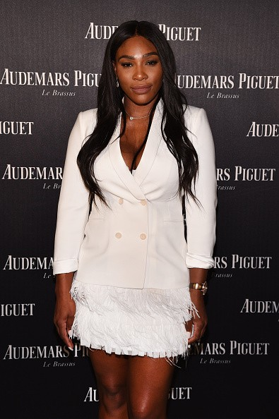 MIAMI BEACH, FL - NOVEMBER 29: Serena Williams attends the Audemars Piguet Art Commission Presents 'Reconstruction of the Universe' By Sun Xun on November 29, 2016 in Miami Beach, Florida