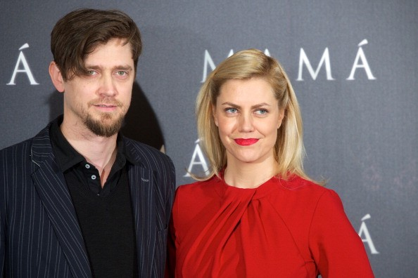 Director Andy Muschietti (L) and producer Barbara Muschietti (R) attend the 'Mama' photocall at the on February 4, 2013 in Madrid, Spain.