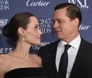 Entertainment Innovator Angelina Jolie Pitt (L) and Brad Pitt attend the WSJ. Magazine 2015 Innovator Awards at the Museum of Modern Art on November 4, 2015 in New York City.