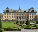 The majestic view of Drottningholm Palace in Sweden where friendly ghosts roam according to Queen Silvia of Sweden.