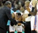 Russell Westbrook Earns Another Technical Foul After Accidentally Pegging Ref In Head With Ball