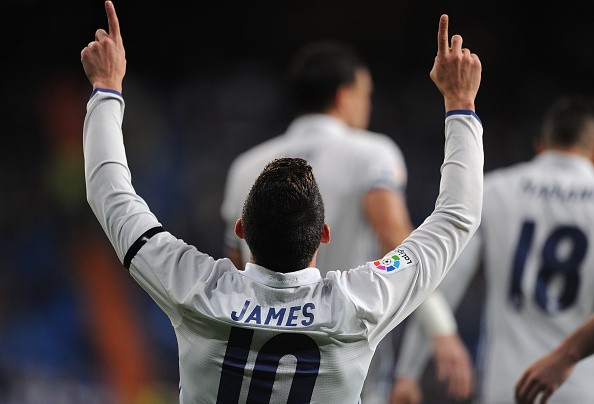 James Rodriguez Vows To Stay In Madrid Despite Manchester United Link
