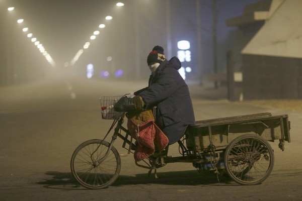 Beijing Again Engulfed In Heavy Smog