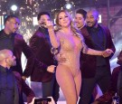 Mariah Carey performs during the New Year's Eve Countdown at Times Square on December 31, 2016 in New York City.