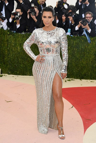 Kim Kardashian West attends the 'Manus x Machina: Fashion In An Age Of Technology' Costume Institute Gala at Metropolitan Museum of Art on May 2, 2016 in New York City.