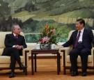 Brazil's Vice President Michel Temer Visits China