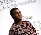 John Boyega attends the Gala Screening of Disney's 'Queen Of Katwe' during the 60th BFI London Film Festival at Odeon Leicester Square on October 9, 2016 in London, England.