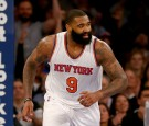 Knicks' forward/center Kyle O'Quinn has been fined by the NBA for striking and pushing Anthony Davis, which resulted in Davis getting injured.