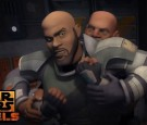 Star Wars Rebels: Saw Vs Ezra, Rex & Klik klak