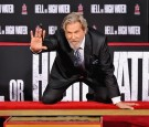 Actor Jeff Bridges participates in his hands and footprints ceremony at TCL Chinese Theater on January 6, 2017 in Los Angeles, California.