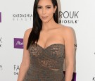 Kim Kardashian introduces 'Kardashian Beauty Hair' line at Marionnaud Champs Elysees