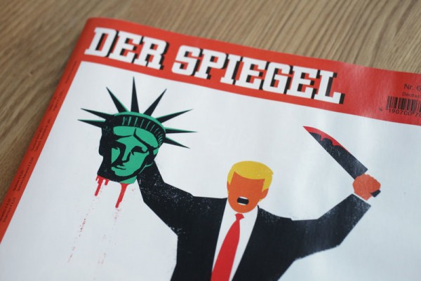 Controversial Der Spiegel Cover Depicts Donald Trump