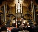 Los Angeles Mayor Eric Garcetti Visits The Set Of 'American Horror Story: Hotel'