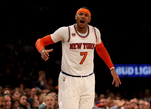 NBA News: Carmelo Anthony To Replace Kevin Love In The All-Star Game