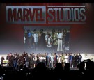 Cast and crew of Marvel movies 'Black Panther,' 'Captain Marvel,' 'Doctor Strange,' 'Guardians of the Galaxy Vol. 2,' and 'Spider-Man: Homecoming' attend the Marvel Studios presentation