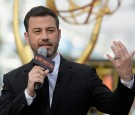 Host Jimmy Kimmel speaks during the red carpet rollout for the 68th Emmy Awards press preview day at Microsoft Theater on September 14, 2016 in Los Angeles, California