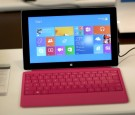 A next generation Microsoft Surface Pro 2 tablet is displayed at a Microsoft store in the Dadeland Mall on October 22, 2013 in Miami, Florida.