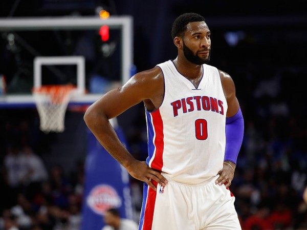 NBA News: Pistons' Andre Drummond Ejected After Pushing Pelicans Guard Tim Frazier