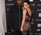 Kanye West and Kim Kardashian West attend Harper's Bazaar's celebration of 'ICONS By Carine Roitfeld' presented by Infor, Laura Mercier, and Stella Artois at The Plaza Hotel on September 9, 2016.