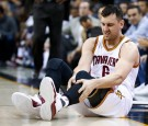 NBA News: Andrew Bogut Injures Leg In Cavs Debut, Initial X-rays Reveal Broken Tibia