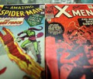In this photo illustration, vintage Spider Man and X-Men Marvel comic books are seen at St. Mark's Comics August 31, 2009 in New York City.