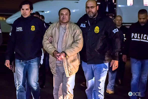 Joaquin 'El Chapo', Guzman Loera to appear in Brooklyn federal court on allegations of leading a continuing criminal enterprise, other drug-related charges