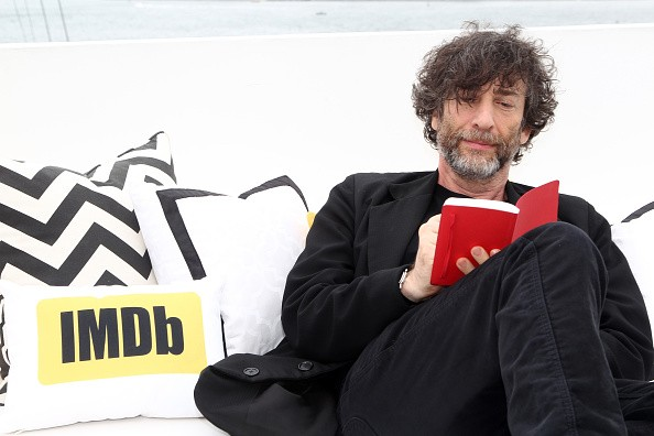 Writer Neil Gaiman attends the IMDb Yacht at San Diego Comic-Con 2016: Day Three at The IMDb Yacht on July 23, 2016 in San Diego, California.