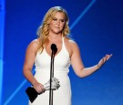 Actress-writer Amy Schumer accepts Critics' Choice MVP Award onstage during the 21st Annual Critics' Choice Awards at Barker Hangar on January 17, 2016 in Santa Monica, California.