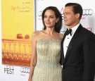 Writer-director-producer-actress Angelina Jolie Pitt (L) and actor-producer Brad Pitt attend the opening night gala premiere of Universal Pictures' 'By the Sea'.