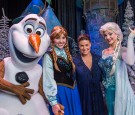 Idina Menzel Visits Walt Disney World