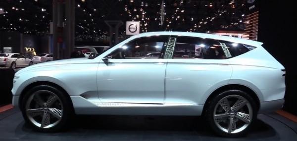 Genesis GV80 Concept - Exterior Interior Walkaround - Debut at 2017 New York Auto Show