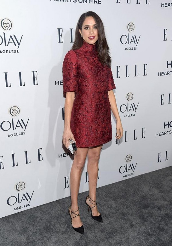 ELLE's 6th Annual Women In Television Dinner Presented By Hearts on Fire Diamonds And Olay - Red Carpet