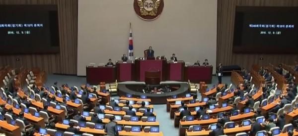 South Korea: President Park Geun-Hye impeached over corruption scandal