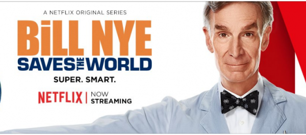 Bill Nye on Netflix official photo